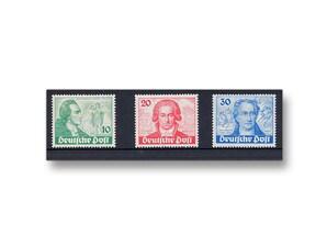 Berlin, Briefmarken-Jahrgang 1949 (061-063)