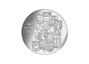 """DDR Münze: 10 Mark """"40 Jahre DDR"""", 1989 (Vorzüglich/Stempelglanz)"""