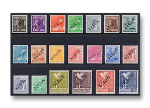 Berlin, Briefmarken-Jahrgang 1948