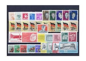 DDR, Briefmarken-Jahrgang 1959