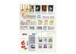 DDR, Briefmarken-Jahrgang 1980