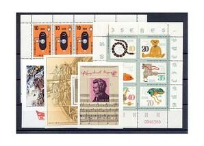 DDR, Briefmarken-Jahrgang 1981