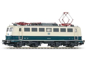 "E-Lok BR110, blau-beige, ""DB AG"", Epoche IV, Gleichstrom, H0"