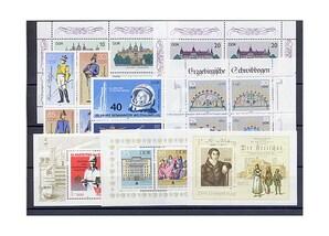 DDR, Briefmarken-Jahrgang 1986