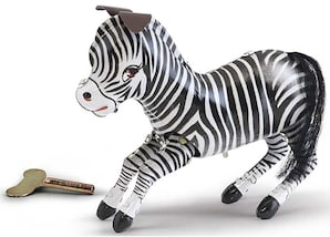 "Blechspielzeug ""Zebra"""