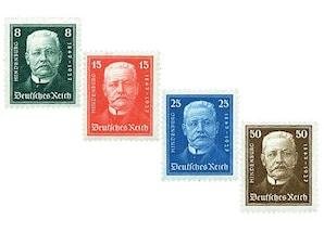"""Deutsches Reich, Weimarer Republik 1927 """"80. Geburtstag von Paul von Hindenburg"""""""
