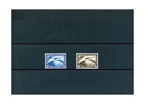 """Deutsches Reich 1930, """"Zeppelin Südamerika"""" (438-439)"""