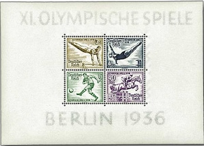 "Block Nr. 5 ""Olympische Spiele Berlin 1936"""