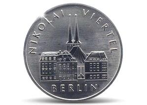 Münzbrief  750 Jahre Berlin, Nikolaiviertel