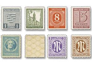 Alliierte Besatzung, Briefmarkenpaket
