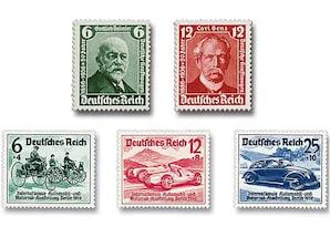 """Deutsches Reich """"Der Start in das automobile Zeitalter"""""""