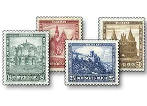 """Deutsches Reich, Deutsche Nothilfe 1931 """"Bauwerke"""""""