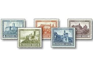 """Deutsches Reich, Deutsche Nothilfe 1932 """"Burgen und Schlösser"""""""