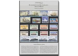 """Sammel-Steckkarte """"Schiffe der Seefahrt"""""""