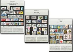 """Raritäten-Steckkarte, """"Die Briefmarken des Jahres 1990"""" - Komplett-Set"""
