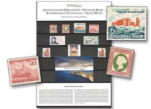 """Raritäten-Steckkarte, """"Briefmarken von und über Helgoland"""""""