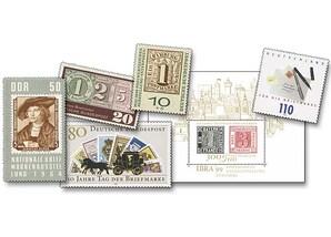 """175 Jahre Briefmarken """"Marke auf Marke"""""""