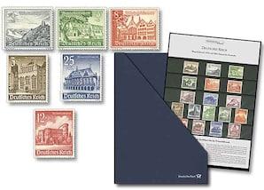 """Deutsches Reich, Die Winterhilfswerk-Ausgaben von 1939 und 1940 """"Historische Bauwerke"""""""