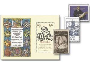 Luther auf deutschen Briefmarken