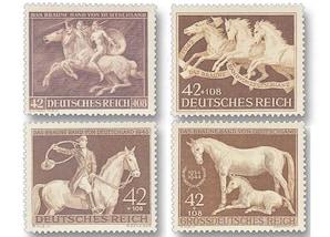"""Deutsches Reich """"Galopprennen und das Braune Band von Deutschland"""", 1941-1944"""
