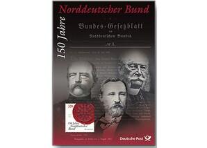 """Erinnerungsblatt: """"150 Jahre Norddeutscher Bund"""""""