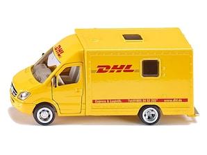 Bild DHL-Postwagen Modell