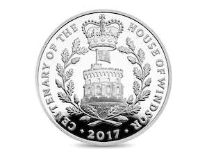 "5-Pfund ""House of Windsor"" im Blister"