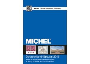"""MICHEL-Katalog """"Deutschland-Spezial 2016"""", Band 2"""