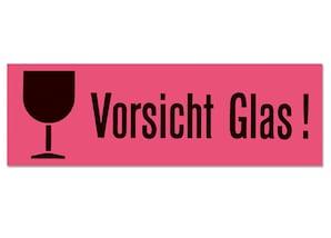 """Herma Hinweisetiketten """"Vorsicht Glas"""", 10 Stück"""