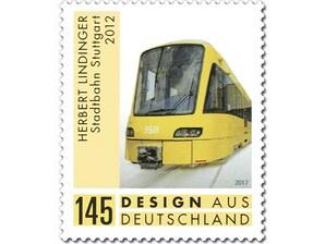 Stadtbahn Stuttgart, Briefmarke zu 1,45€, 10er-Bogen