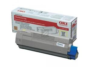 OKI Toner-Kit gelb 43872305