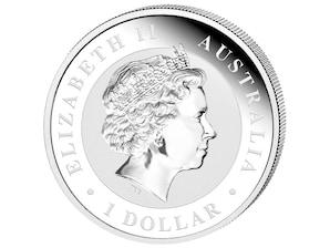"""1 Dollar Silbermünze """"Kookaburra"""", 2018"""