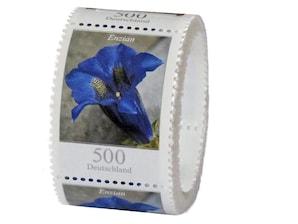 Enzian, Briefmarke zu 5,00 €, 100er-Rolle