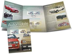 """Erinnerungsblatt """"Klassische Deutsche Automobile III"""""""