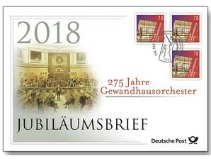"""Jubiläumsbrief """"275 Jahre Gewandhausorchester"""""""