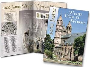 """Erinnerungsblatt """"1000 Jahre Weihe Dom Worms"""""""