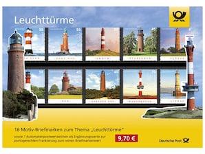 "Steckkarte ""Leuchttürme"""